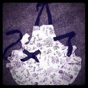 Jessie steel apron